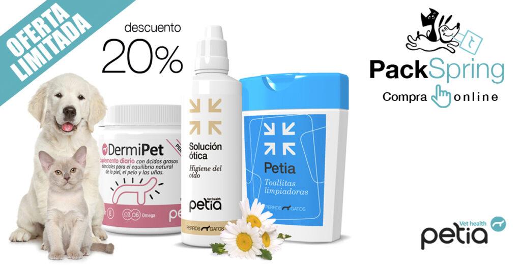 PACK SPRING DESCUENTO PETIA